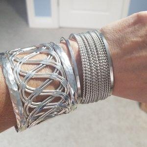 Jewelry - Two  Silver Bracelets